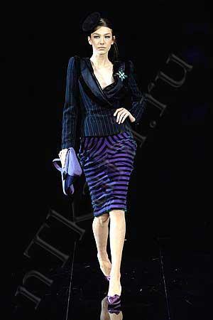 бархатная юбка с драпировкой