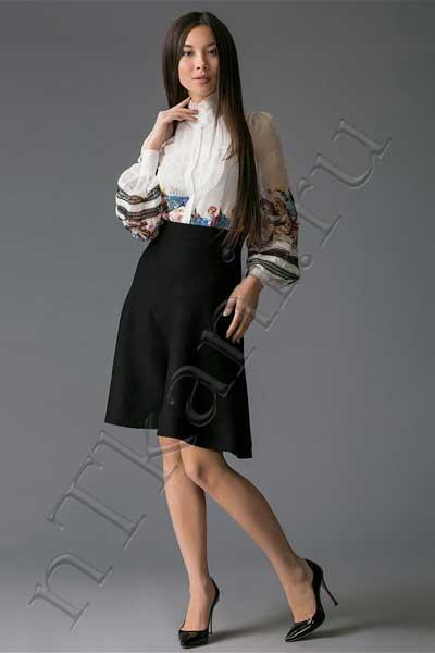 бархатная юбка годе