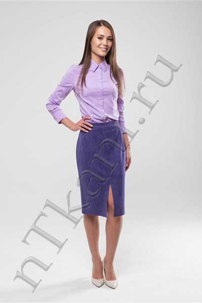 бархатная юбка карандаш
