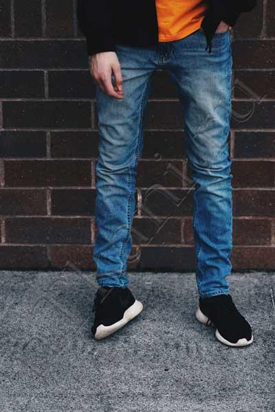 японские джинсы из сырого денима