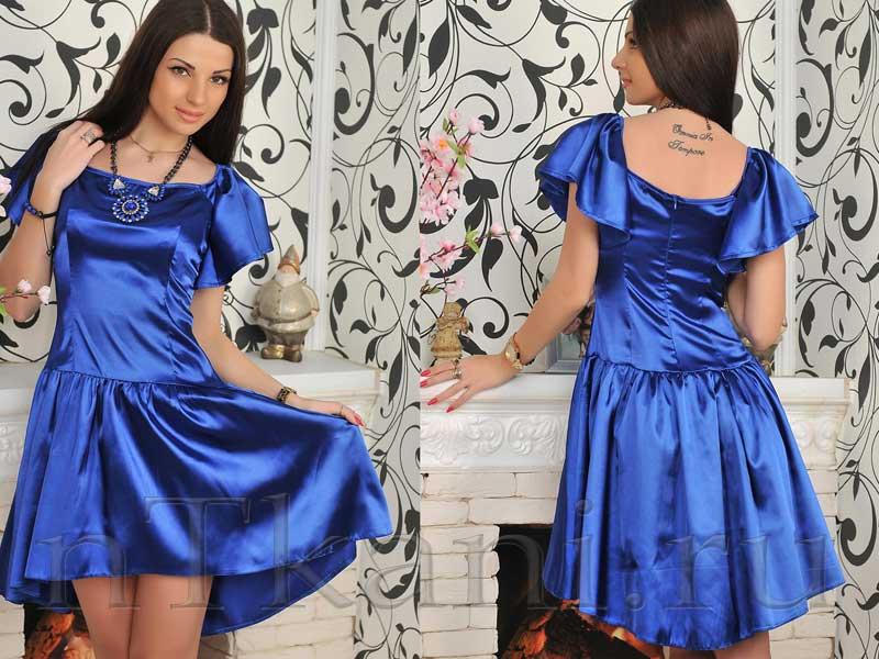 Платья из креп-сатина