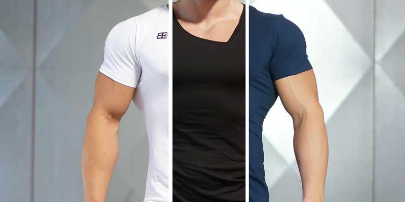 размеры футболок мужских