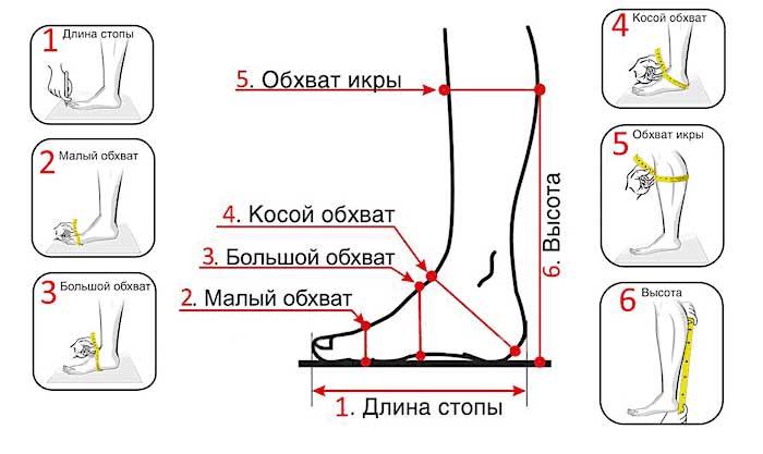немецкие размеры обуви
