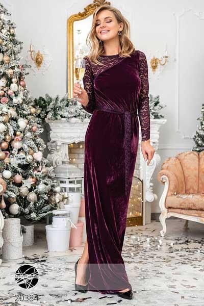 велюровые платья maxi