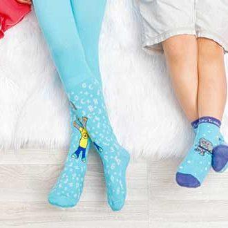 размер носков для детей таблица