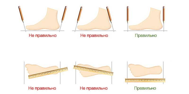 скороход таблица размеров детской обуви