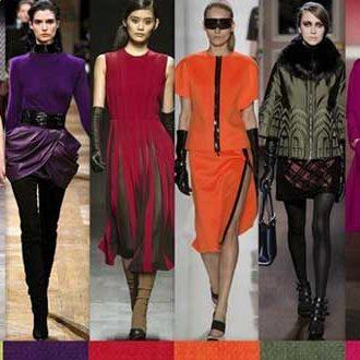 Сочетания цветов в одежде для женщин