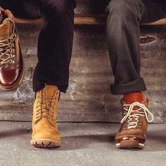 Размерная сетка обуви Timberland