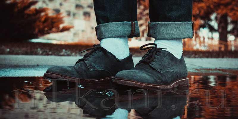 обувь из велюра и замши в чем разница