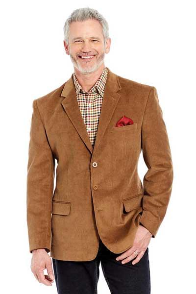 Классический вельветовый пиджак