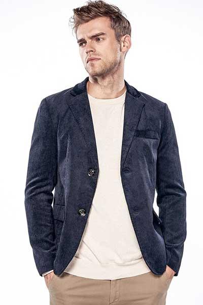 вельветовый пиджак Casual