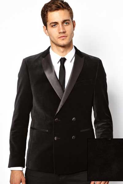 вельветовый пиджак с воротником