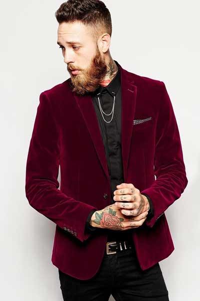 вельветовый пиджак мужской