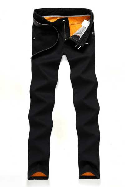 Утепленные вельветовые брюки
