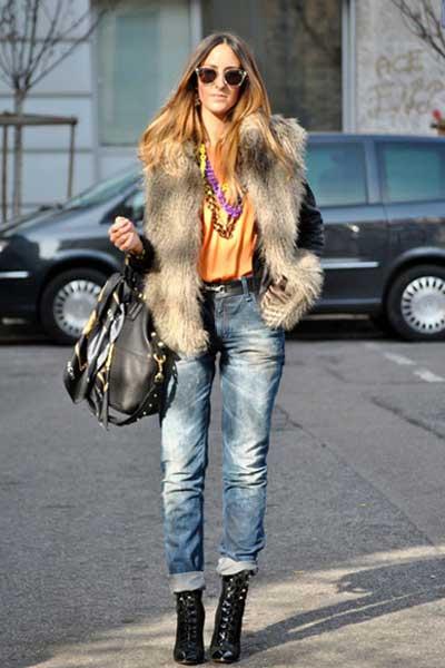 джинсы бойфренды с чем носить