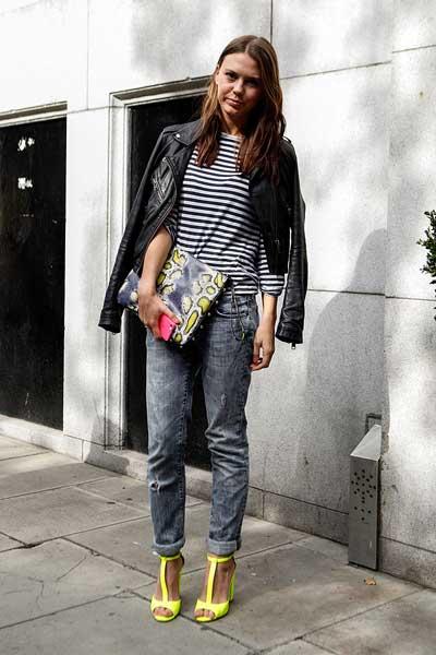 джинсы бойфренды женские с чем носить