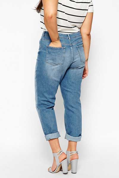 широкие джинсы бойфренды