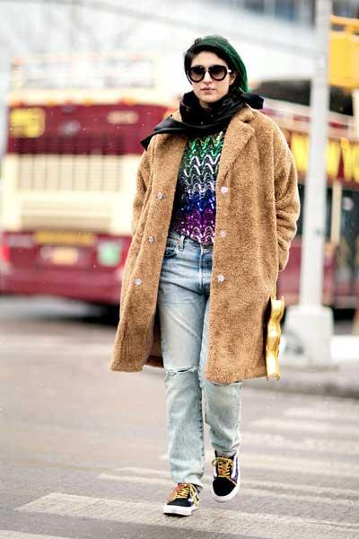 джинсы бойфренды женские зимой