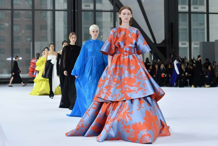 Коллекция Carolina Herrera Fall 2020