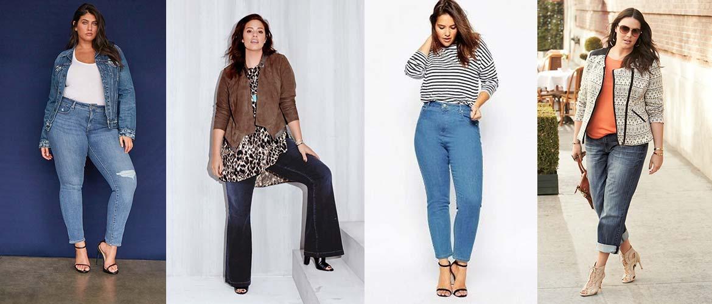 3 хитрости по выбору джинсов для полных девушек