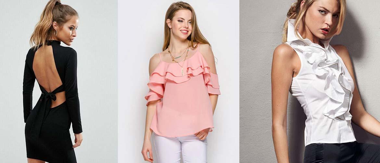 Как подчеркнуть небольшую грудь с помощью одежды
