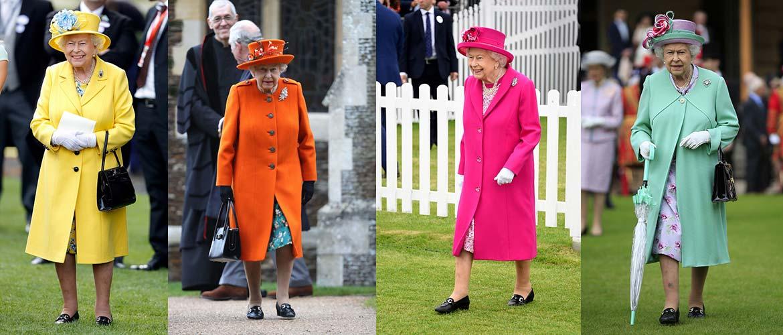 Необычный стиль британской королевы Елизаветы II