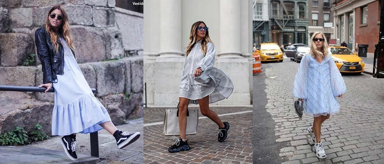 Как носить модное в этом сезоне платье-парашют