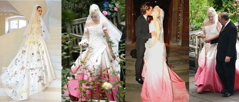 Самые странные свадебные платья знаменитостей