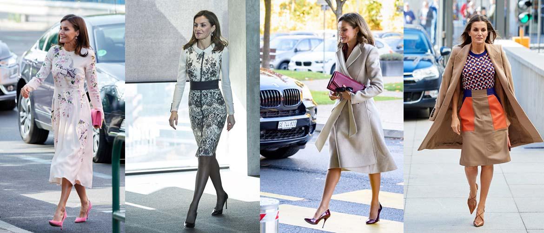 Стиль испанской королевы Летиции