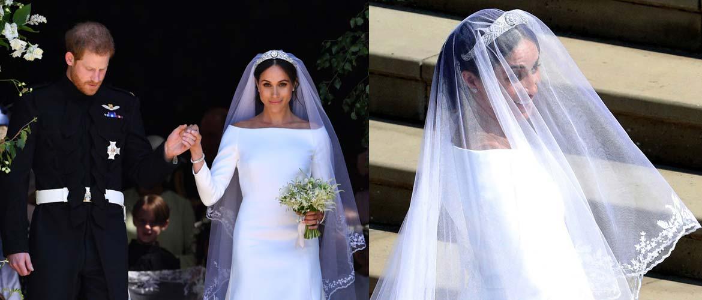 Три символичных секрета свадебного платья Меган Маркл