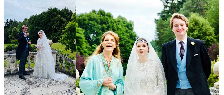 Свадебное платье принцессы Иордании