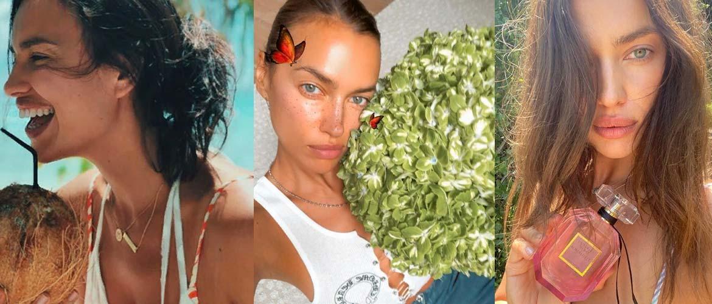 Ирина Шейк без макияжа