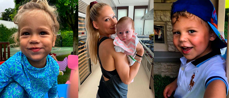 Анна Курникова показала, как выглядят близнецы от Энрике Иглесиаса