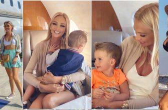 Виктория Лопырева с сыном отдыхает на Мальдивах