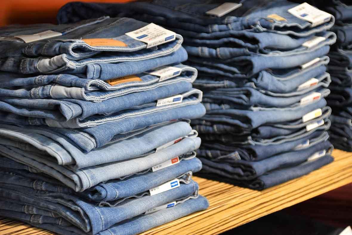 Размеры мужских и женских джинсов в таблице